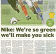 Nike: We're so green we'll make you puke