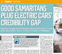 Good Samaritans plug electric cars' credibility gap